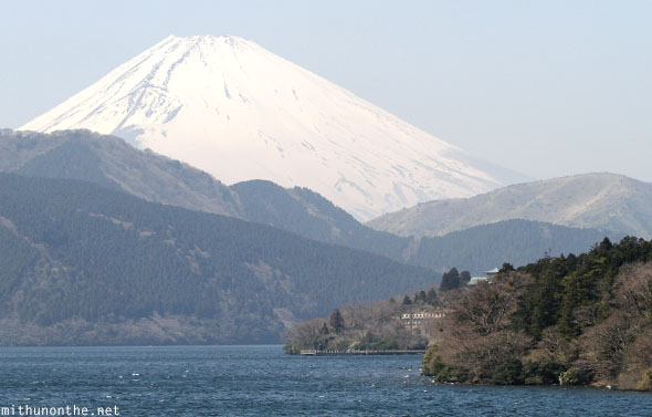 Mount Fuji Lake Ashi Hakone Japan
