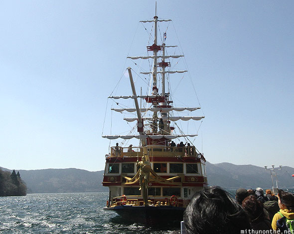 Pirate ship sightseeing Lake Ashi tour