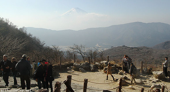 Mount Fuji viewing point Japan