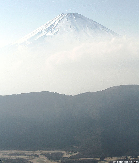 Mount Fuji from Owakudani Japan