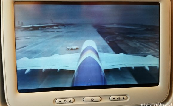 Airbus A380 seat screen Japan