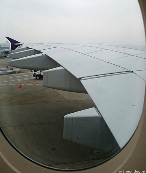 Length Airbus A380 wing span