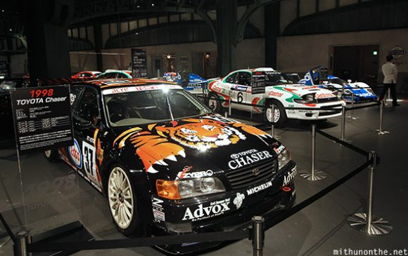 Toyota Chaser Castrol rally sport car