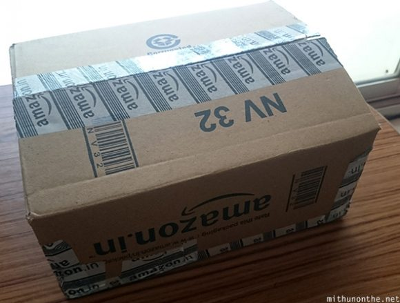 Amazon India delivery box