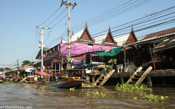 Amphawa floating market boat tour
