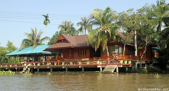 Resort house Amphawa river Thailand