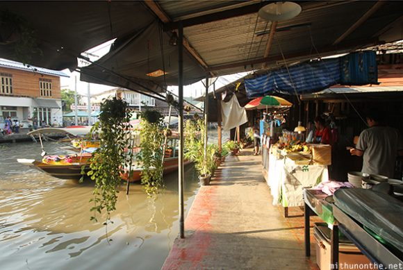 Amphawa floating village Thailand