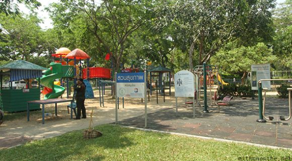 Lumpini park children play area