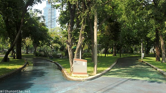 Lumpini park two way Bangkok