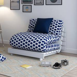 Finn Futon Sofa Bed Blue