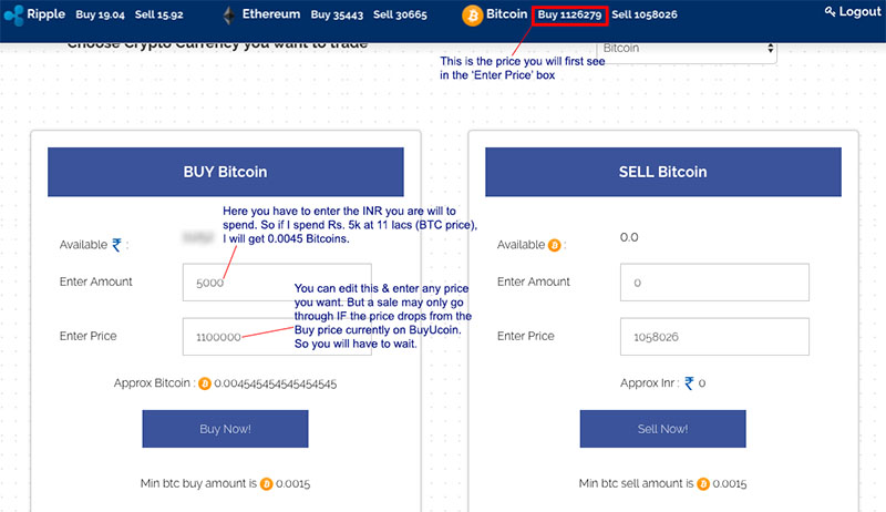 Buyucoin how to buy Bitcoin