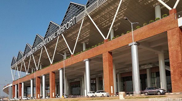Kannur international airport front