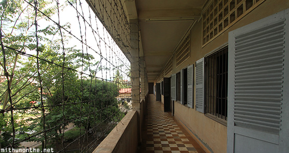 Tuol Sleng detention rooms Cambodia