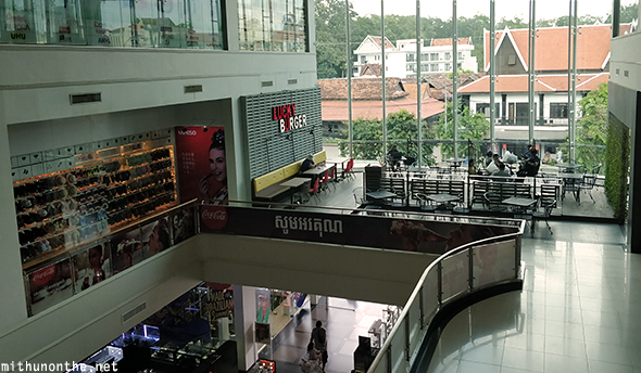 Inside Lucky Mall Siem Reap