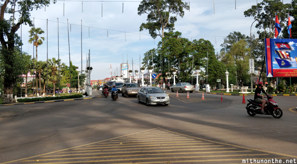 Intersection Siem Reap Cambodia
