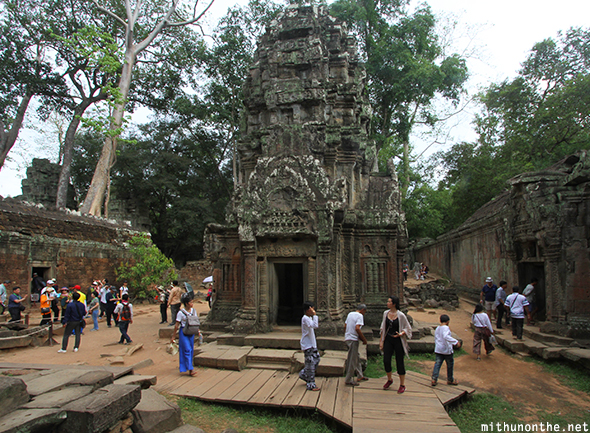 Ta Prohm temple Siem Reap