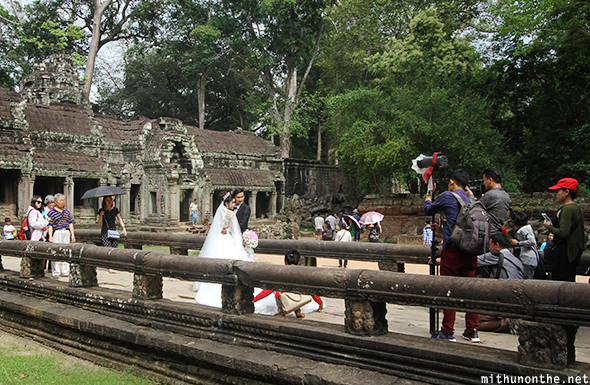 Ta Prohm wedding shoot Siem Reap
